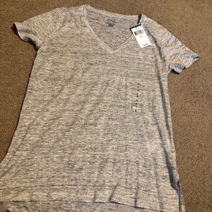 New Ladies Ralph Lauren gray shirt size Small